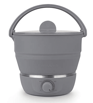 Foldable Electric Hot Pot Cooker-Best For Travelling