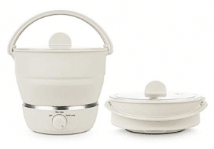 Foldable electric hotpot cooker