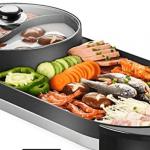 Electric Hot Pot With BBQ Grill-10 Best Hot Pot For Home and Outdoor Use