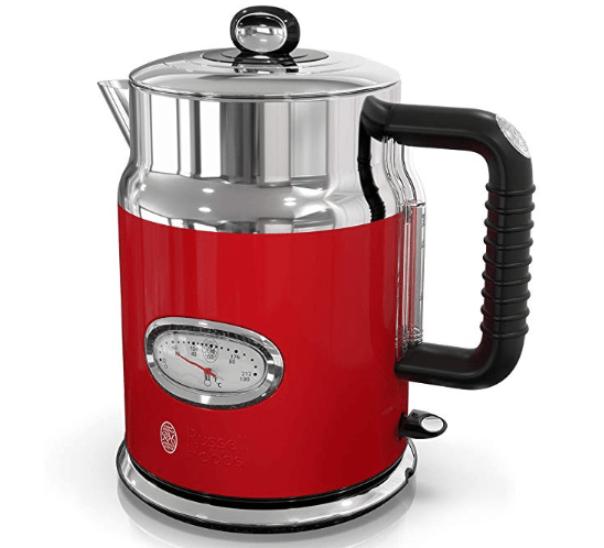 Russell Hobbs KE5550BKR Retro Style 1.7L Electric Kettle