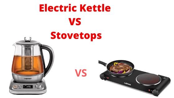 Electric Kettle Vs Stovetops Oven