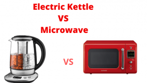 Electric Kettle VS Microwave