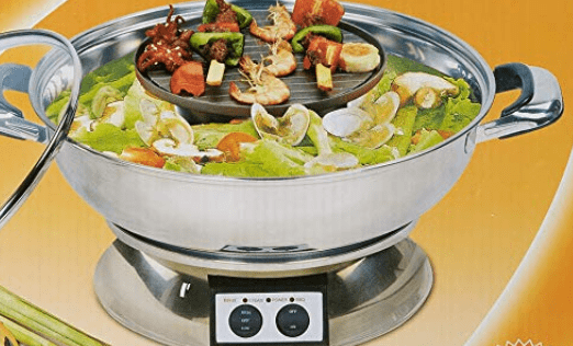 Best Shabu Shabu Electric Hot Pot With Divider